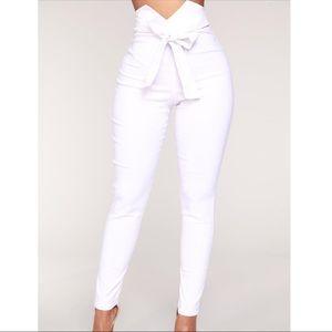 FASHIONOVA🤍Stretchy pants